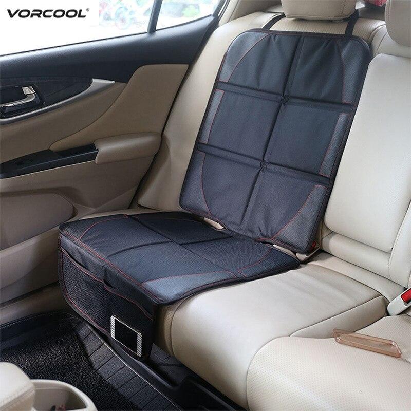 123*48 cm Auto Seat Protector Oxford Baumwolle Leder Kind Baby Auto Sitz Abdeckung Mit Tasche Matte Verbesserte Schutz für Auto Sitz