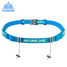 AONIJIE Outdoor Unisex Original Running Triathlon Marathon Race Number Belt With Holder Gel Running Belt Belt Motor Running Bag