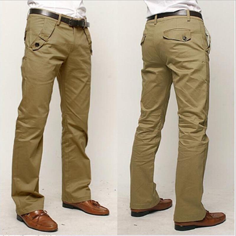 Casual Pants Men 2018 Fashion Men slacks Cotton straight business long men 's chinos trousers casual pants pantalon homme