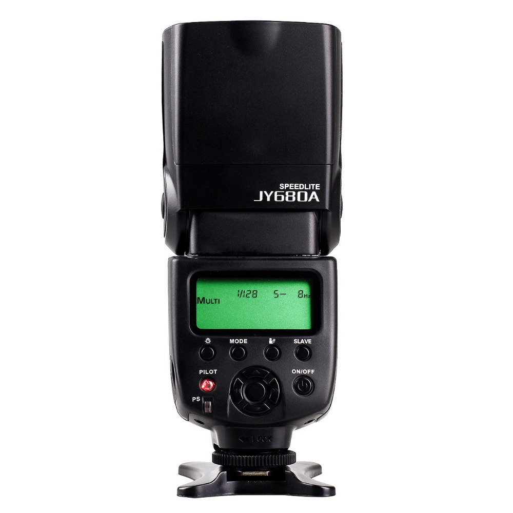VILTROX JY-680A Universal Camera LCD Flash Speedlite for Canon 1300D 1200D 760D 750D 700D 600D 70D 60D 80D 5D II 7D DSLR 2 8x lcd viewfinder for canon 600d 60d
