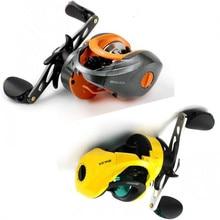 купить Baitcast Reel Left And Right Hand Sea Fishing Wheel Gear Ratio 6.3:1 Magnetic Brake Fishing 8+1 BB Max Drag 5kg онлайн