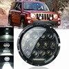75W 7 Inch LED Headlights Bulb For Wrangler JK CJ Hummer H1 H2 LED Projector Driving