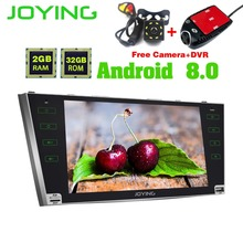 9 JOYING Head Unit Tape Recorder Double 2 Din For Toyota Camry Android Car Radio Audio