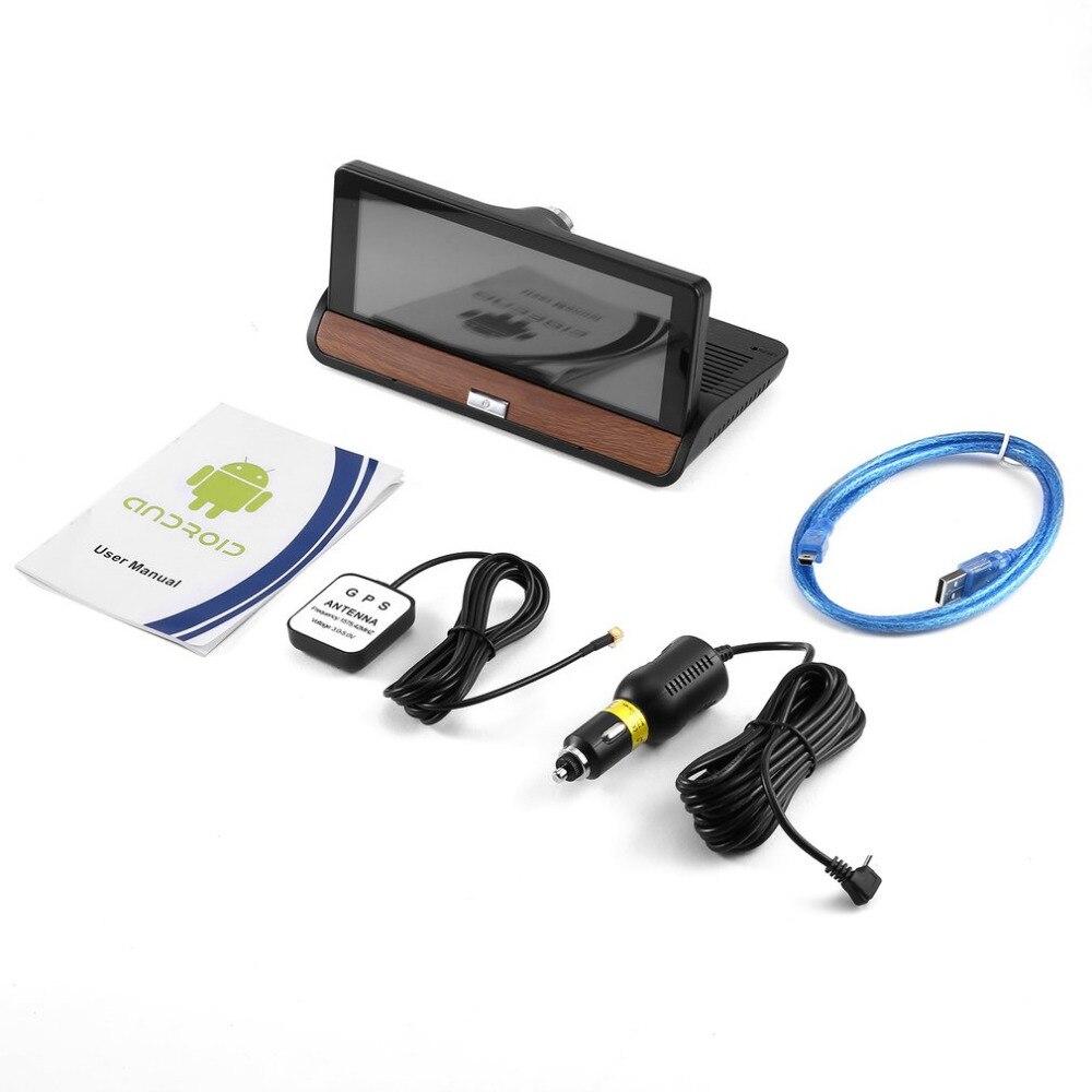 6,86 дюймов Full HD 1080 P Видеорегистраторы для автомобилей gps навигации регистраторы Камера 120 градусов видео Регистраторы видеокамера Bluetooth для ...
