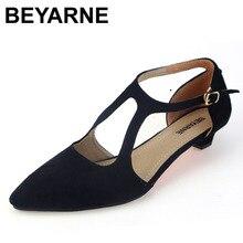 Nouvelle arrivée de mode confortable femmes chaussures simples bas talon travail chaussures femme printemps chaussures d'été taille 35-41 livraison gratuite