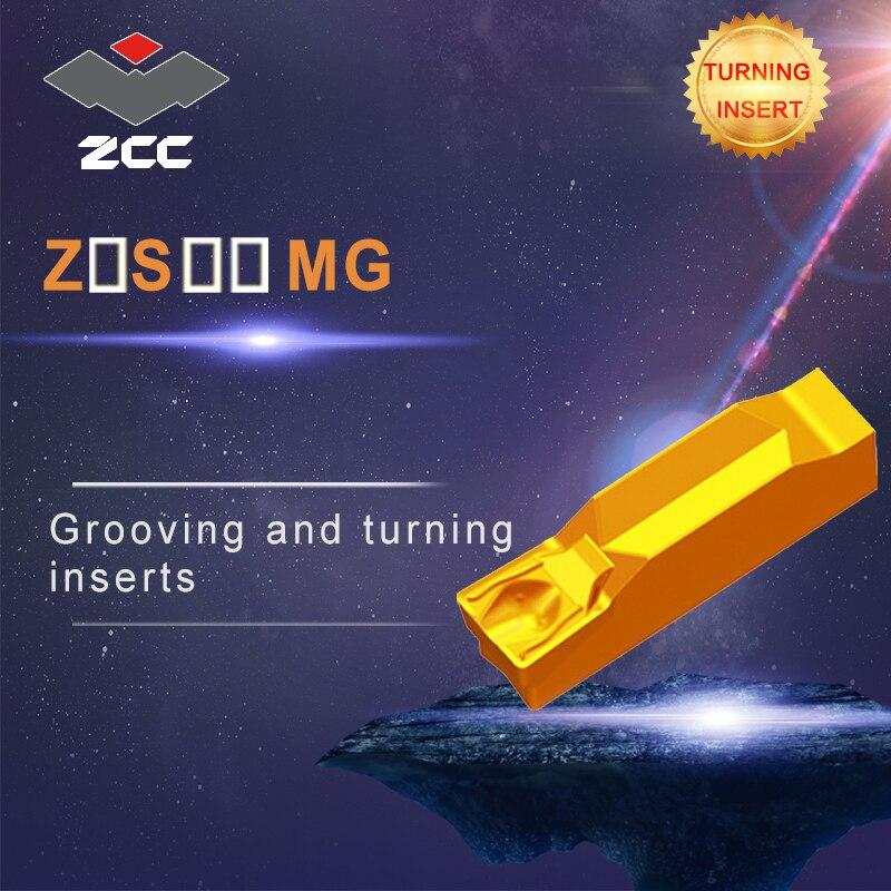 купить CNC tools lathe inserts 10pcs/lot ZTHS0504-MG ZTKS0608-MG coated cemented carbide turning inserts steel stainless steel parting по цене 4775.07 рублей