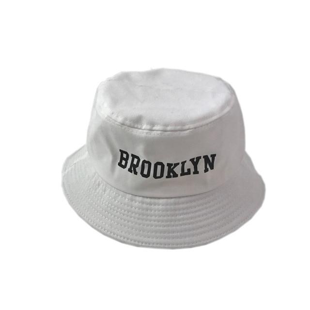 VORON 2017 nuovi BROOKLYN Ricamo Secchio Cappello Pescatore Cappelli Uomini  donne Esterno Strada Estate Hip Hop 0c8ce086a0a5