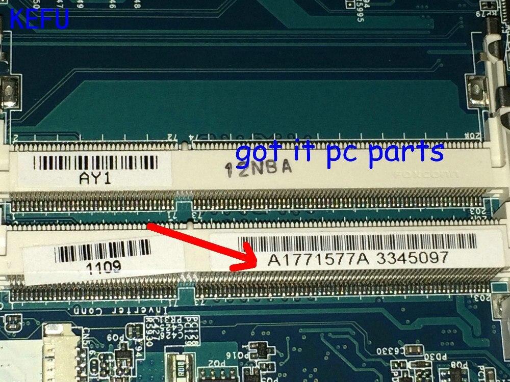 KEFU 100% NOVA A1771577A MBX-224 M960 REV: 1.1 laptop motherboard Para Sony VPCEB Notebook pc COMPARAR ANTES DA ORDEM