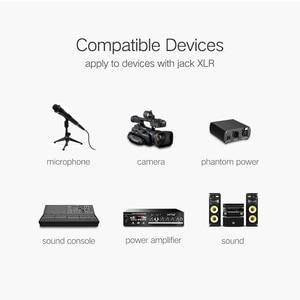 Image 4 - Ugreen kabel XLR Mikrofon do Karaoke dźwięku Cannon przewód Plug XLR rozszerzenia Mikrofon kabel do mikser Audio wzmacniacze XLR przewód