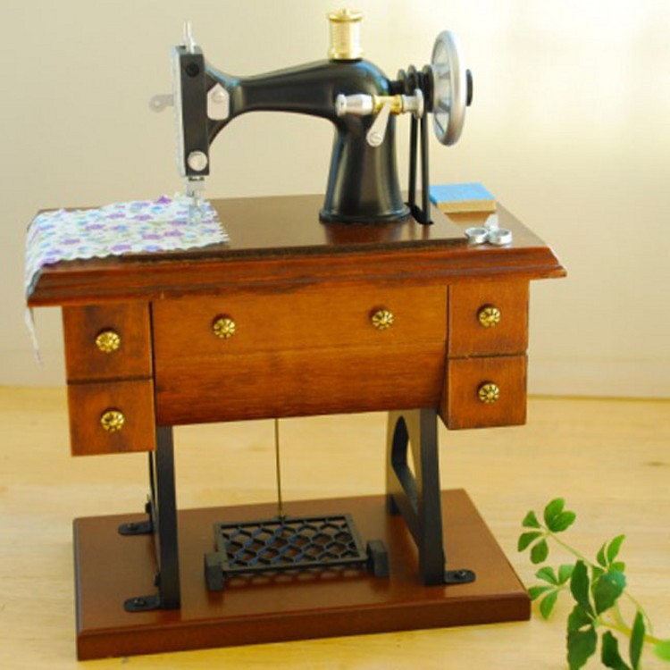 New Home Wooden Letters For Sewing Machine