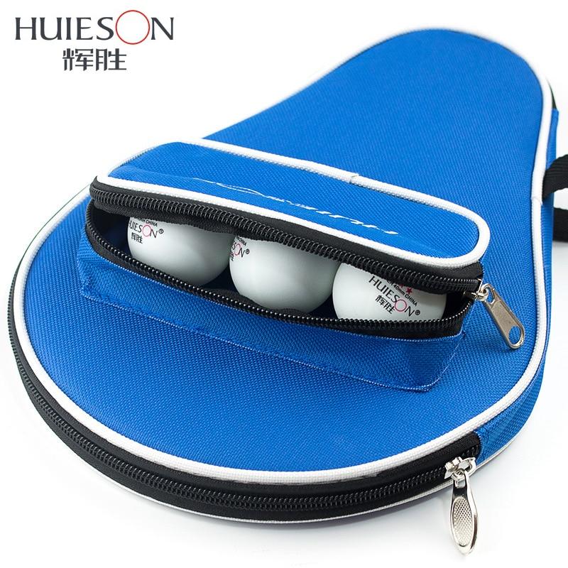 Huieson Professional Oxford galda tenisa rakete ar ārējo rāvējslēdzēju somu galda tenisa bumbiņām Galda tenisa aksesuāri