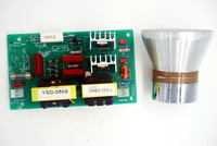 60 w 28 khz 초음파 청소 변환기 클리너 + 전원 드라이버 보드 220vac