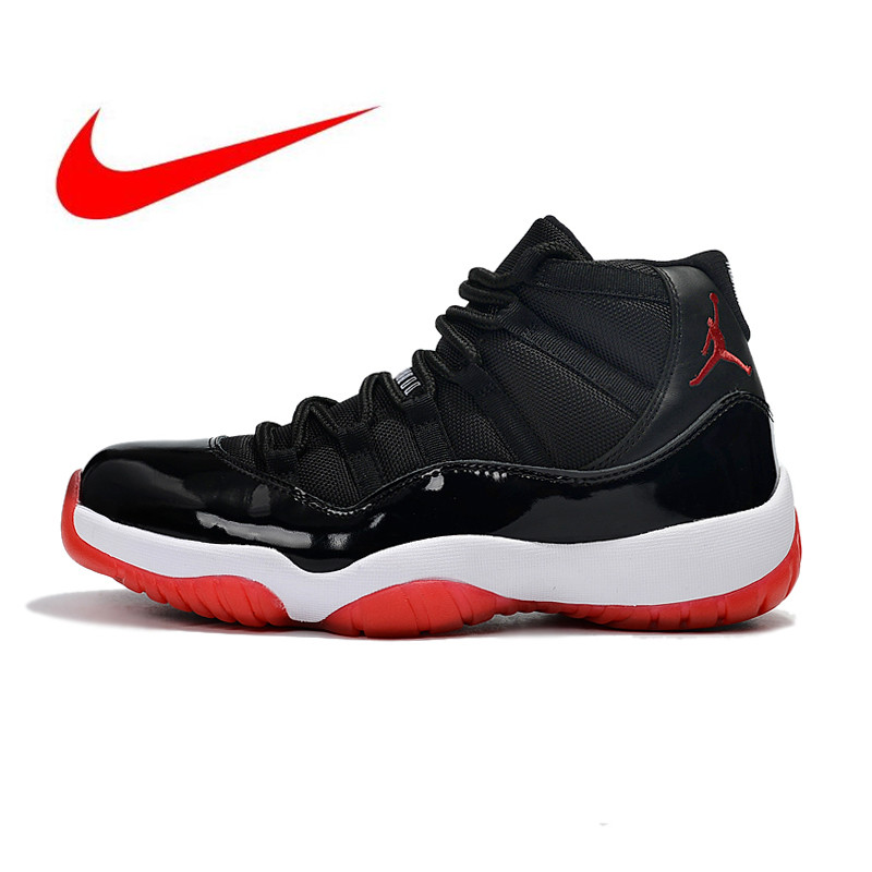 a5a65fa4e6e US $103.2 57% OFF|Original High Quality Nike Air Jordan 11 Concord Men's  Models Basketball Shoes Sneakers New Outdoor Shoes Non Slip 378037 010-in  ...