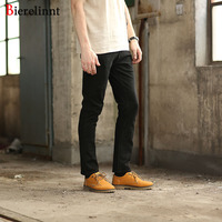 Bierelinnt 2017 New Fashion Brand Good Quality Elastic Retro Jeans Men Retail Wholesale Cotton Denim Men