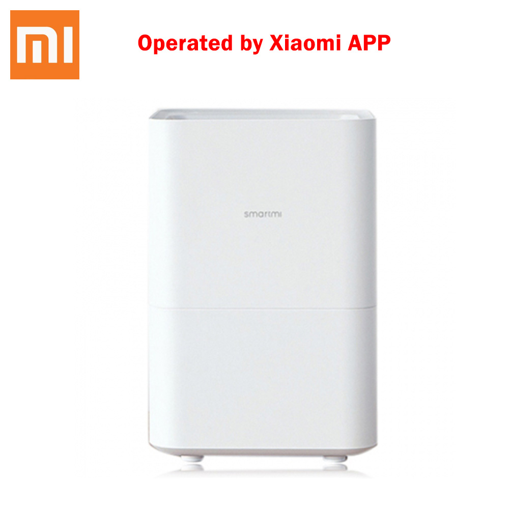 Xiaomi Smartmi Pure Evaporative Air Humidifier With 4L Capacity Automatic Water Evaporation Air Humidifier For Home Office
