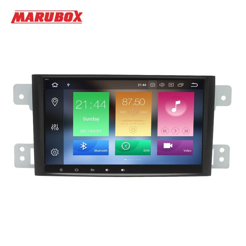 MARUBOX 1 Din Android 8.0 4GB RAM For Suzuki Grand Vitara Escudo 2005-2012 GPS Navi Stereo Radio Car Multimedia Player 8A905PX5 цена