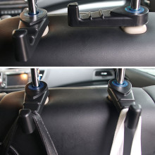 Автомобильный держатель, автомобильная вешалка на подголовник заднего сиденья, держатель, крючки для сумки, сумочки, тканевые держатели, продуктовый автомобильный стиль 1,2 Y5
