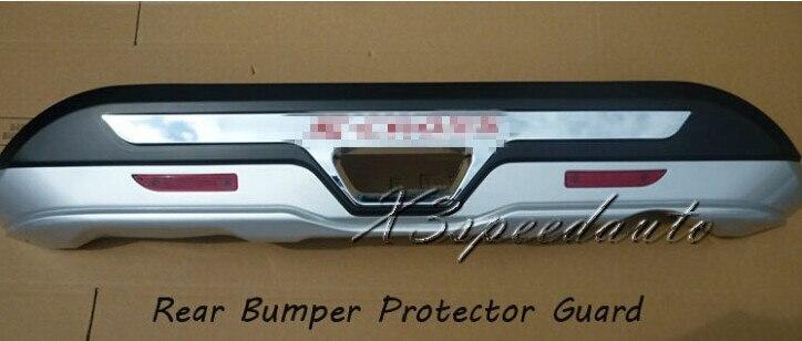 Otomobiller ve Motosikletler'ten Tamponlar'de Kuyruk Arka Tampon Koruyucu güvenlik Suzuki S cross Için SX4 2014 + Yüksek Kaliteli Plastik title=