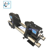Double Motor Auto Media Printer Take Up System For Roland Mutoh Mimaki Xenons DX5 DX7 Plotter