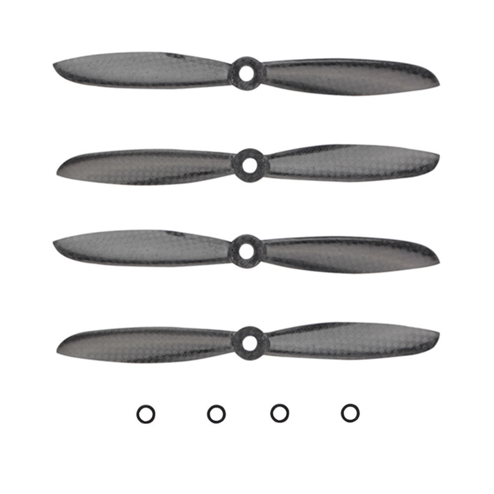 4pcs/lot High Performance 6045 6*4.5 Carbon Fiber Propeller Prop CW/CCW for QAV250 H250 Multirotor Quadcopter (2 pair) 10x3 8 3k carbon fiber propeller cw ccw 1038 cf props cons for dji f45