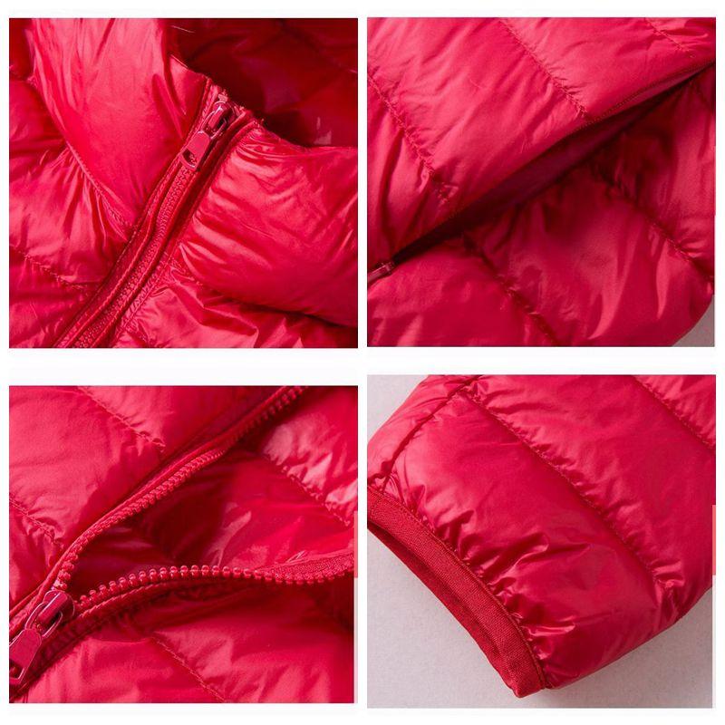 Image 5 - NewBang 8XL 9XL Plus Size Ultra Light Down Jacket Women Autumn  Winter Warm Coat White Duck Jackets Female Hooded ParkaDown Coats   -