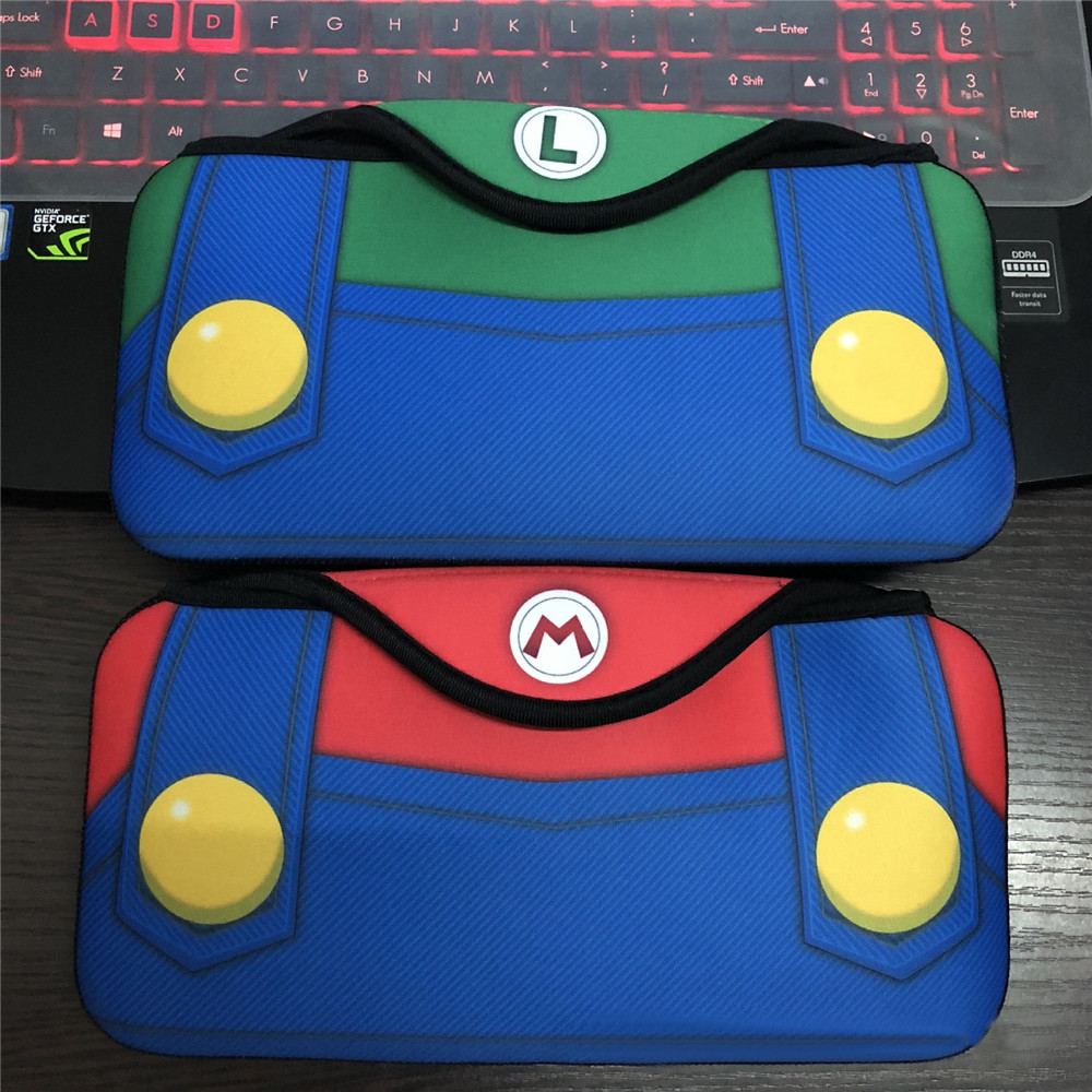 For Mario Protective Case Pouch for Nintendo Switch Console Travel Carrying Storage Bag For Switch NS Protable Game Handbag