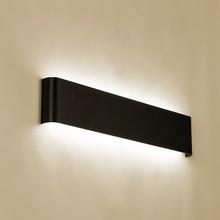 Светильник светильник настенный Современный минималистичный светодиодный алюминиевый прикроватный светильник, настенный светильник, зеркальный светильник для ванной комнаты, прямой креативный светильник