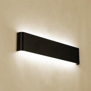 Modern minimalist LED aluminum lamp bedside lamp wall lamp room bathroom mirror light direct creative aisle(China)
