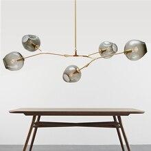 Современное освещение люстры светильник загорается светильники для столовой Ресторан люстры Хрустальные подвесные люстры лампа