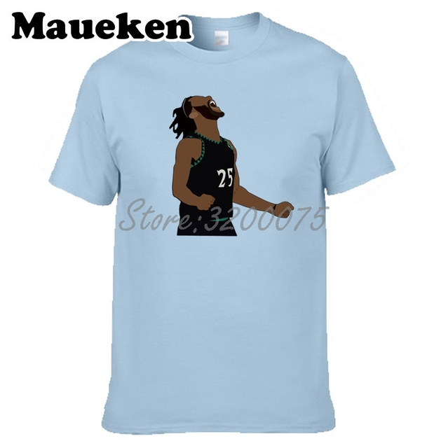 d28b3eb2d985 Men T-shirt Derrick Rose 25 Bloom 50 Point Celebration Minnesota Clothes T  Shirt tshirt for TimberWolves fans gift tee W18110806
