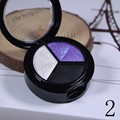 Waterproof Smoky Cosmetic Set 3 Colors Professional Natural Shimmer Eyeshadow Makeup Eyeshadow Palette Nude Glitter freeshipping