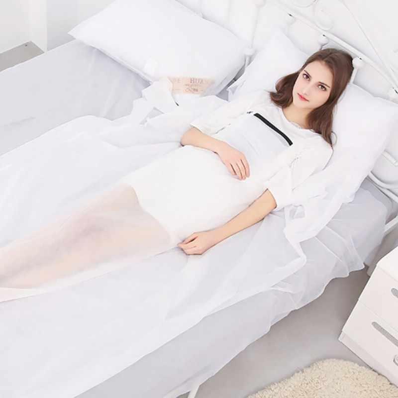 ทิ้งแผ่น Anti - สกปรกแบบพกพา Travel Hotel บนธุรกิจผ้าคลุมเตียงที่นอนกันน้ำสิ่งทอ Home