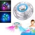 Banheiro CONDUZIU A Luz Do Flash Brinquedos engraçados Do Bebê Das Crianças Dos Miúdos Coloridos mudando Engraçado À Prova D' Água na Banheira Brinquedos Melhor Presente Para crianças