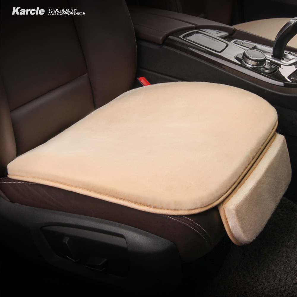 karcle 1pcs thicken plush car seat cover for winter not ball warm seat cushion soft breathable. Black Bedroom Furniture Sets. Home Design Ideas