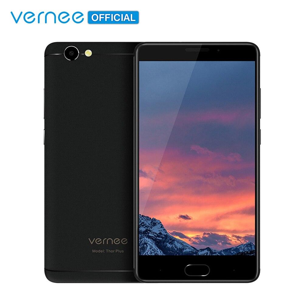 Vernee Тор плюс Octa Core 3 ГБ + 32 5,5 Super Amoled смартфон 5800 мач 9 В/2A Quick Charge 13MP Android 7,0 4 г мобильного телефона