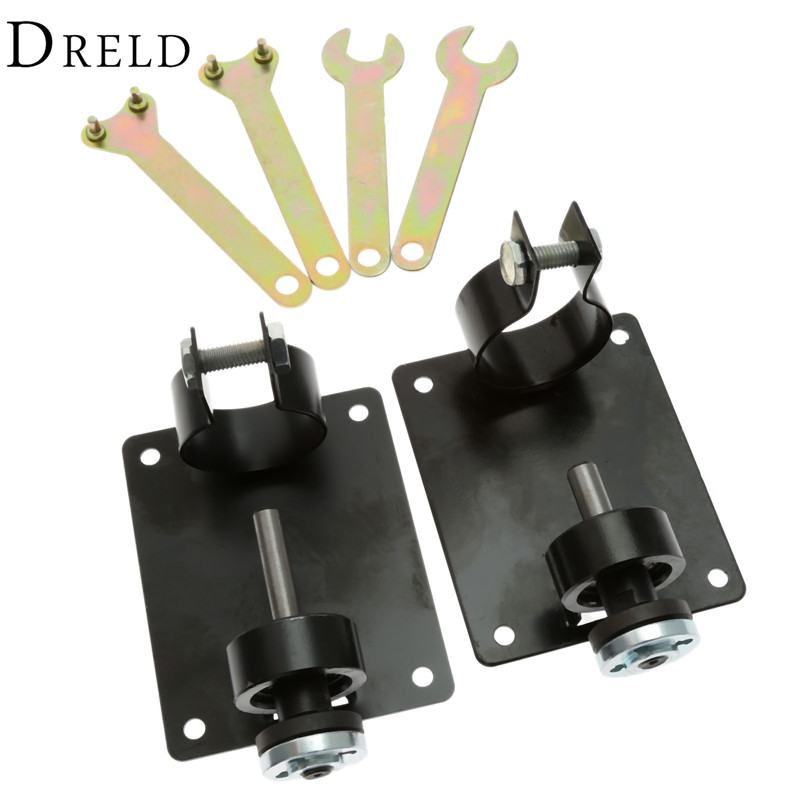 One Set Dremel Electric Drill Cutting Machine Seat Stand  Base Polishing Machine Cutter Holder Bracket Rod Bar Electrical Tools free shipping drill stand press holder for 42mm electric drill machine tools workbench stand dill holder