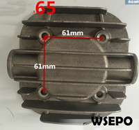 Quality Pneumatic Tools Parts! Cylinder Cover fits for DF65 65mm Bore Size Piston Type Air Compressor