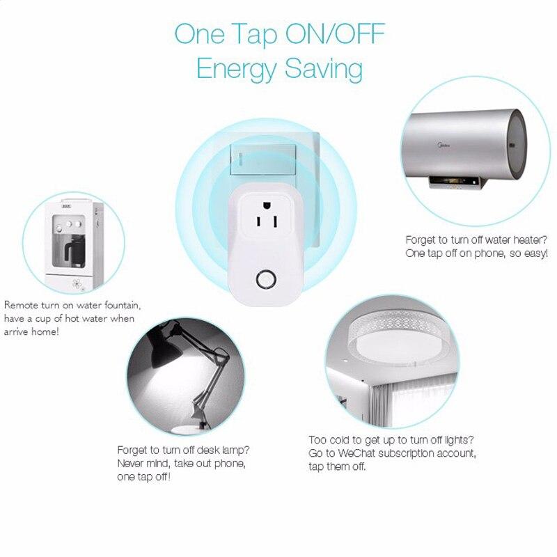 Cheap wifi timer socket eu/US plug Adapter wireless smart Home ...