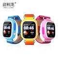 Q90 táctil q50 bebé embroma el teléfono gps smart watch llamada sos Localizador GPS Localizador Dispositivo de Seguimiento GPS Kid Safe Anti Perdido Monitor