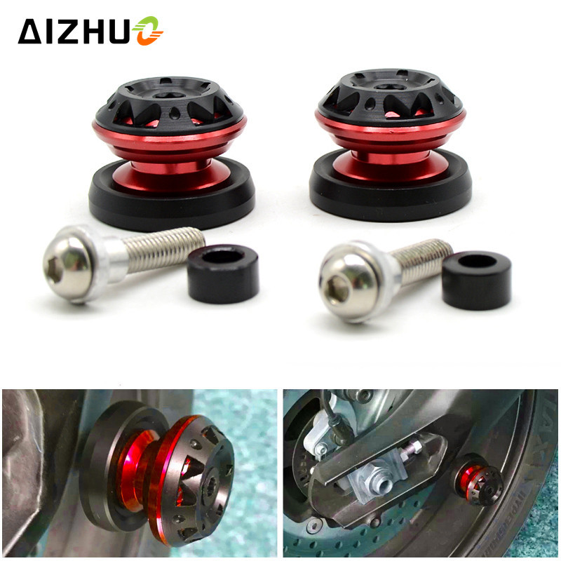 Motorcycle Swingarm Slider Spool Stand Screw 6mm 8mm 10mm FOR HONDA VT1100 VT250 Honda XADV 750 X 11 CBR300R CB300F MSX125 in Covers Ornamental Mouldings from Automobiles Motorcycles