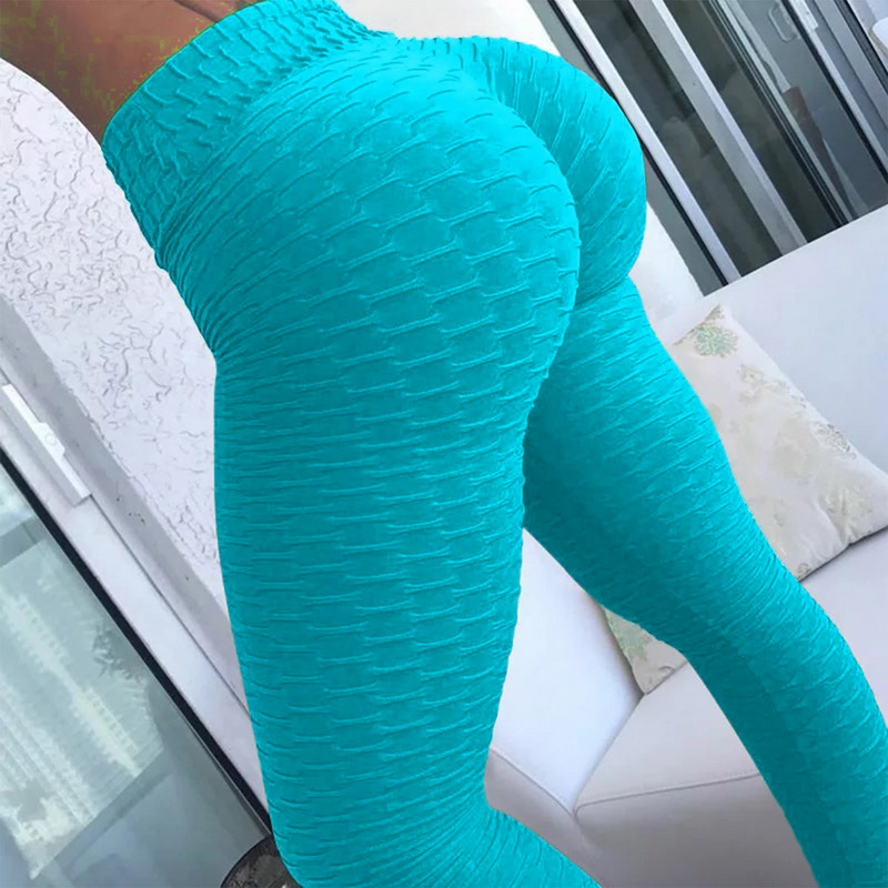 10colors Hot Women Yoga Pants Sexy White Sport leggings Push Up Tights Gym Exercise High Waist Fitness Running Athletic Trousers 1