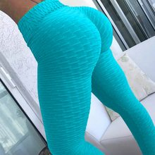 10colors Hot Women Yoga Pants Sexy White Sport leggings Push Up Tights Gym Exercise High Waist Fitness Running Athletic Trousers(China)