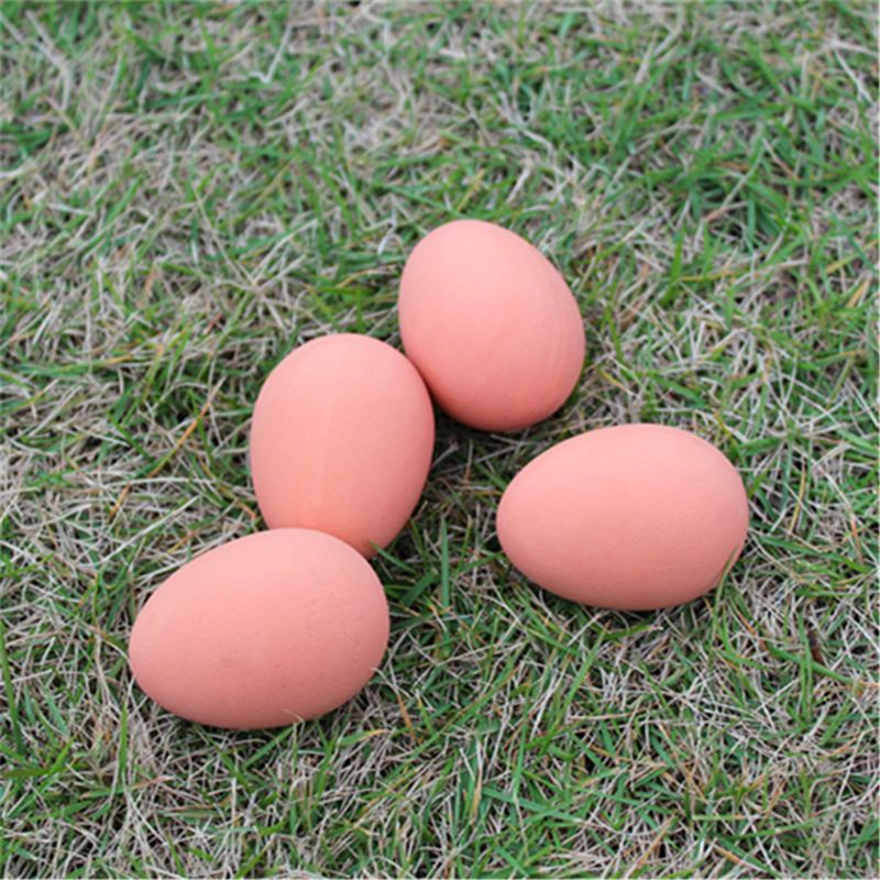 1pc Funny Novelty Simulation Egg Pet Dog Toy Rubber Bouncing Egg Ball Toy Gifts