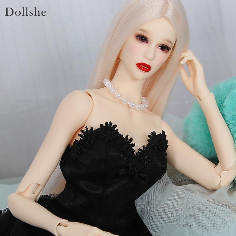 Resin BJD beautiful woman Amanda 41cm body free face make up and eyes
