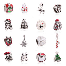 dodocharms Style Enamel Crystal Red Apple Bead Charms