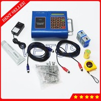 TUF 2000P DN15 100mm Digital Ultrasonic Flow Meter Portable Liquid Flowmeter with built in mini thermal printer TS 2 Transducer
