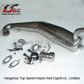 Exhaust Pipe/Tuned Pipe for 1/5th RC Gas Model Car/FG Big Monster exhaust tuning pipe ,Free shipping!!!