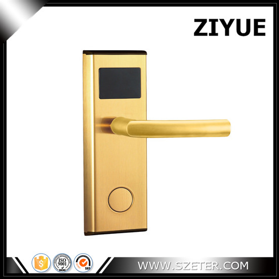 Digital electric Promotion Hot Sale! Electronic Smart  RFID card hotel acess control lock  ET100RF new design stainless steel rf electronic electric hotel lock door rfid 3 colors