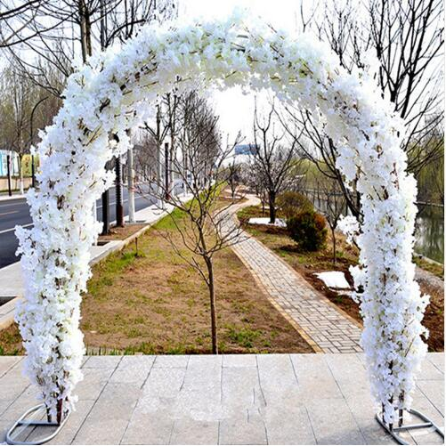 Wedding flower wall Mall opening cherry Arches Sets Event Decoration Supplies Arch shelf Cherry blossoms Free Shipping in Party DIY Decorations from Home Garden