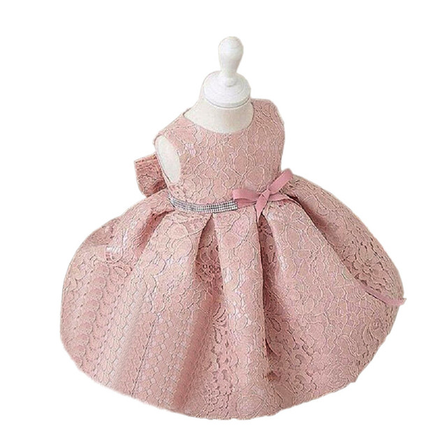 Baby Girl Dresses 2017 Summer Dress Cute Sequin Sleeveless vest Princess Party Baby Girl Wedding Dress Birthday kids clothes